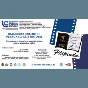 """FESTIVALUL CREAȚIEI IULIENE ,,FILIPIADA – 2021"""""""