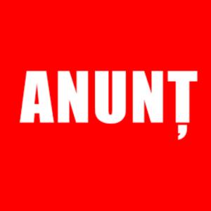 ANUNȚ CONCURS