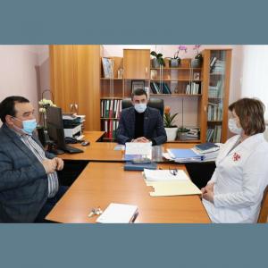 """Ședinţa Consiliului Administrativ a IMSP Centrului de Sănătate ,,Anatolie Manziuc"""""""