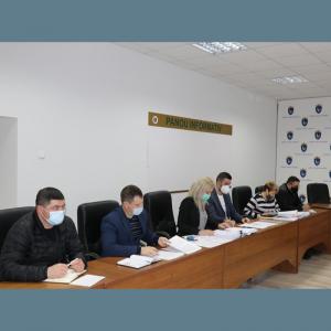 Consiliului raional Drochia s-a întrunit în ședința de lucru la 15 și 16 aprilie