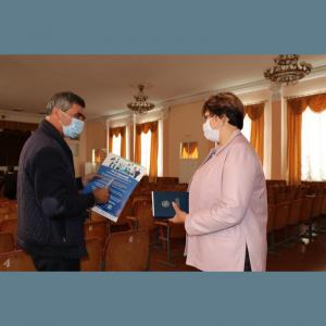 """Ședință de lucru cu privire la """"Imunizarea populației raionului Drochia împotriva COVID-19"""""""