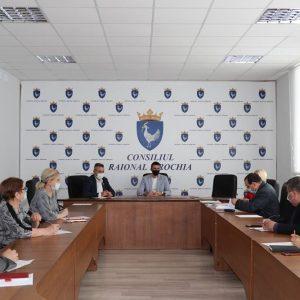 Ședinţa Comisiei de examinare a solicitanţilor de acordare a ajutorului financiar unic din fondul de rezervă al Consiliului raional Drochia