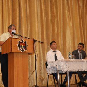 Ședința membrilor Colegiului consultativ din raionul Drochia 18.06.2021