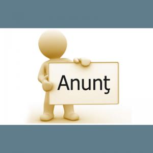 ANUNȚ CONCURS PENTRU OCUPAREA FUNCȚIILOR PUBLICE VACANTE