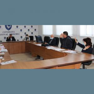 Comisiile consultative de specialitate întrunite în ședință