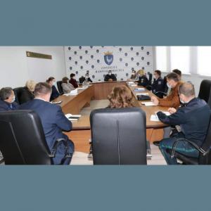 Ședința Colegiului consultativ din raionul Drochia